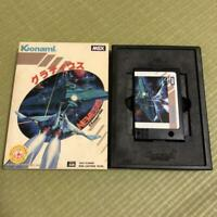 Gradius Nemesis Msx/Msx2 Game Cartridge Manual And Boxed Set #44