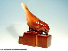 Art Deco Faïencerie Saint Clément Henri Guingot Nancy cerámica personaje pájaro