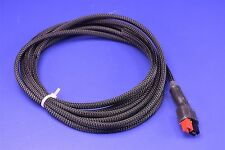 Anderson Powerpole 30 Amp Power Pole Cable Assembly PP30 Twisted 8' w/ Textile