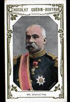 IMAGE CHOCOLAT GUERIN BOUTRON / Militaire GENERAL PAU à POITIERS & à NANCY