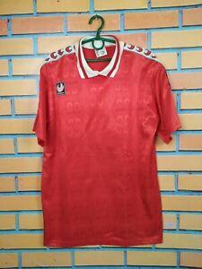 Uhlsport Jersey LARGE Shirt Trikot Camiseta Football Training Vintage Retro