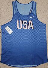 Original Nike Team Usa Track Field Tank Red/White/Blue, Size Men's Large!