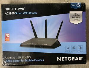 NETGEAR NIGHTHAWK AC1900 SMART WIFI ROUTER R7000 - New Sealed