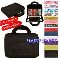 """10"""" universal SHOCK PROOF HARD SHELL CARRY CASE BAG FOR ASUS & HP TABLET LAPTOP"""