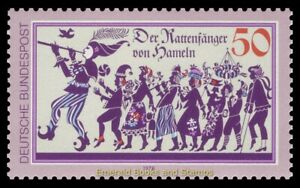 EBS Germany 1978 - The Pied Piper of Hamelin - Rattenfänger - Michel 972 MNH**