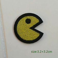 Pac-Man Game Iron On Patch Sew shirt bag Accessories kids baby Gift