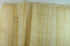 "30 BLANK PAPYRUS WHOLESALE LOT EGYPTIAN ORIGINAL HAND MADE 16""x12"" (30x40CM)"