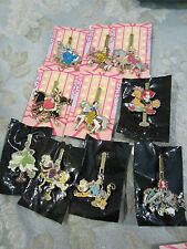 Disney Princess Ariel Brave Belle Carousel Horse Mystery Pin set 0f 10 pins
