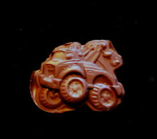 Tow Truck-  Flexible Push Silicone Mold-Cake Cookie Crafts  Fondant Clay Q