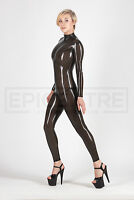 Transparent Latex Rubber Catsuit Easy-On (Chlorianted) 2 Colours Available