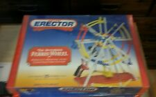 "RARE ""Vintage Meccano Erector motorized ferris wheel set, NIB"
