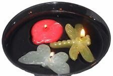 Floating Bug Tealight Candles Set of 3 Ladybug, Dragonfly, & Butterfly BOGO 25%