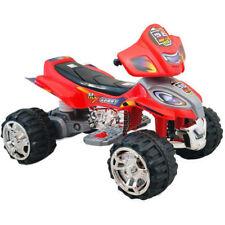 Quad Elettrico per Bambini Mini Moto Auto Elettrica 4 Ruote X Sport 12V Rosso