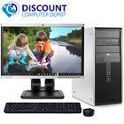 Fast HP Windows 10 Desktop Computer Intel Dual Core PC  4GB  DVD 17