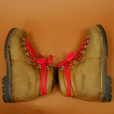 KASTINGER DISTRESSED AUSTRIA US 7.5 or 38  VNT LEATHER BROWN HIGH MOUNTAIN BOOTS