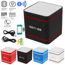 Wireless Bluetooth 3.0 Portable Stereo Mini Speakers For Mobile Phone MP3 iPhone