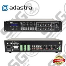 Adastra Rm406 Mixer Amplifier 100v 6 Zone Bluetooth USB FM PA System
