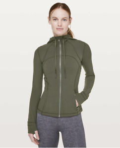 Lululemon Hooded Define Jacket - Size 4 -  Nulu Camo Green