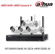 Dahua 1080P Wi-Fi KIT NVR4104HS-W-S2+4-HFW1320S-W 3.6mm Plug&Play HDMI/VGA WPS