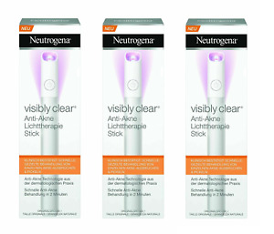 Neutrogena Light Therapy Visibly Clear Acne Spot Treatment Stick (3 Pack)