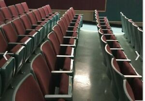 AUDITORIUM/THEATER/CHURCH SEATING used good condition