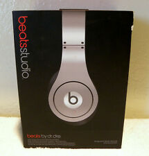 Beats by Dr. Dre Silver Monster BeatsStudio Wireless On Ear Headphones FREE SHIP