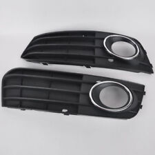 2*Fog Light Cover Grill Front Bumper Grille For Audi A4 A4L B8 09-11 Left Right#