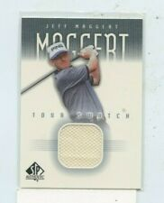 JEFF MAGGERT 2001 Upper Deck SP Authentic Tour Swatch Worn Shirt Relic PGA TOUR