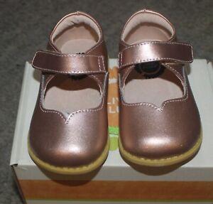 Livie & Luca Rose Gold Astrid Shoes - Size 5 - NIB