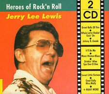 JERRY LEE LEWIS - HEROES OF ROCK' N ROLL (2-CD COMPILATION HOLLAND)