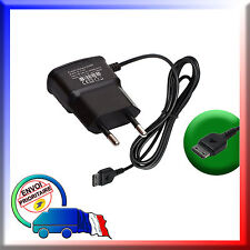 CHARGEUR SECTEUR pour Samsung SGH-S3650 Corby / SGH-S5200 / SGH-S5230 Player One