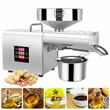 Automatic Nuts Walnut Linseed Rapeseed Oil Press Extractor Machine 110V