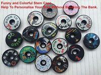 Headset  Stem Cap,Funny And Colorful Stem Cap, 1 1/8 Headset Top Cap