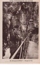 France - Annecy, Gorges du Fier - 1931 Postcard