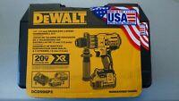 "DEWALT DCD996P2 20V XR Max Li-Ion 1/2"" Brushless 3-Speed Hammerdrill Kit - NEW"