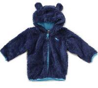 Puma Kinder Jungen Basic Teddy Jacket , Blau , 104 , Neu