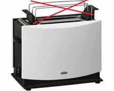 BRAUN HT 450 Toaster 2 Scheiben Toast 1000 Watt Weiß ohne Brötchenaufsatz