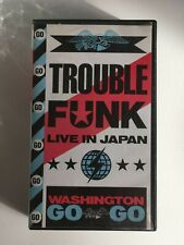 TROUBLE FUNK -  Live in Japan - VHS OOP VERY RARE - WASHINGTON GOGO
