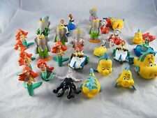 LOT OF MCDONALD'S LITTLE MERMAID HAPPY MEAL TOYS & ARBY'S BABAR TOYS