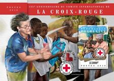 Togo 2018 MNH Red Cross 155th Anniv 1v S/S Medical Health Stamps