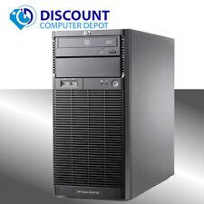 HP ProLiant ML110 G6 Desktop Computer PC Xeon 2.4GHz 4GB 250GB Windows 10 Home
