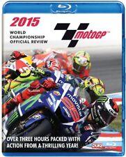 MOTO GP 2015 BLU-RAY - JORGE LORENZO - MotoGP Grand Prix Season Review - NEW UK