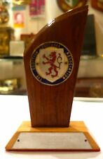 Wooden Plaque Scottish Soccer Association Brazil Independence Cup 1972