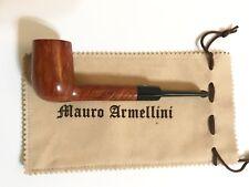 Astounding Mauro Armellini Briar Billiard/Lovat Pipe - Free Shipping in USA