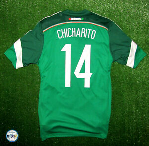 2014-15 Mexico Home Shirt Chicharito 14 Size Medium W/Tags.