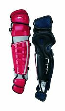 New Other Nike 80434 Leg Guard 17 Inch Red/Gray Baseball Adult Catchers Gear
