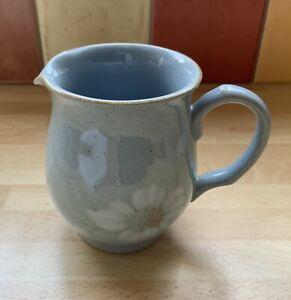 "Denby - Blue Dawn - Milk Jug 3 1/4"" Tall"