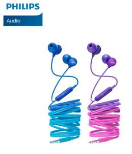 UpBeat Philips In-Ear-Kopfhörer mit Mikrofon SHE2405 BL-PP/00