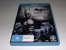 Batman Arkham City Armoured Edition Nintendo Wii U PAL *Complete*