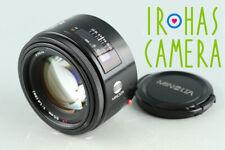 Minolta AF 50mm F/1.4 Lens for Minolta AF #33634 C4